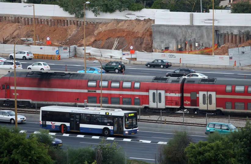 Israel train (photo credit: MARC ISRAEL SELLEM/THE JERUSALEM POST)