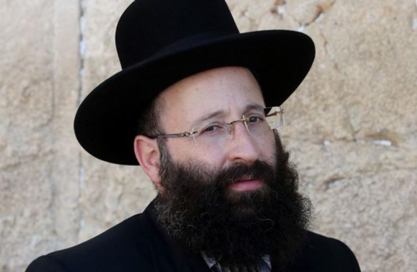 Rabbi Shmuel Rabinowitz (photo credit: MARC ISRAEL SELLEM/THE JERUSALEM POST)
