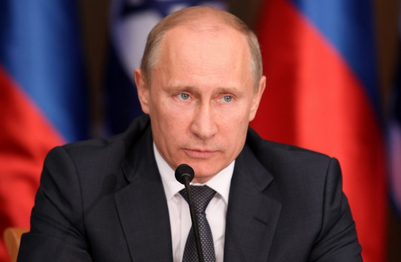 Vladimir Putin (photo credit: MARC ISRAEL SELLEM/THE JERUSALEM POST)