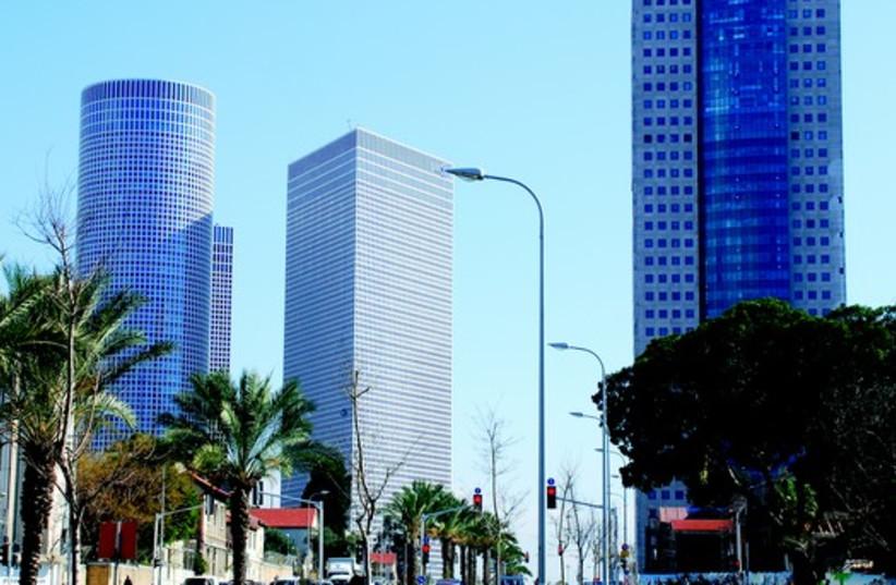 Tours Azrieli à Tel-Aviv (photo credit: LILACH DANIEL,PIKIWIKI)