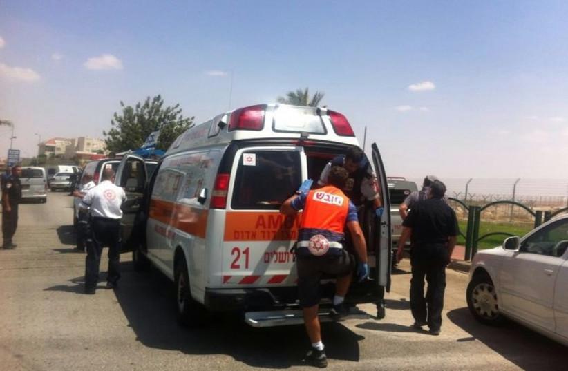 Ambulance (photo credit: MAGEN DAVID ADOM JERUSALEM)