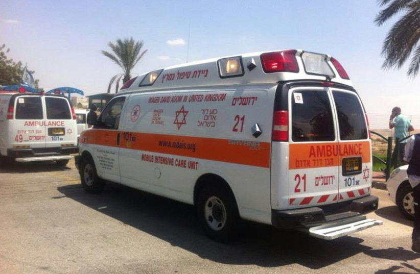 Ambulance (photo credit: MAGEN DAVID ADOM JERUSALEM)