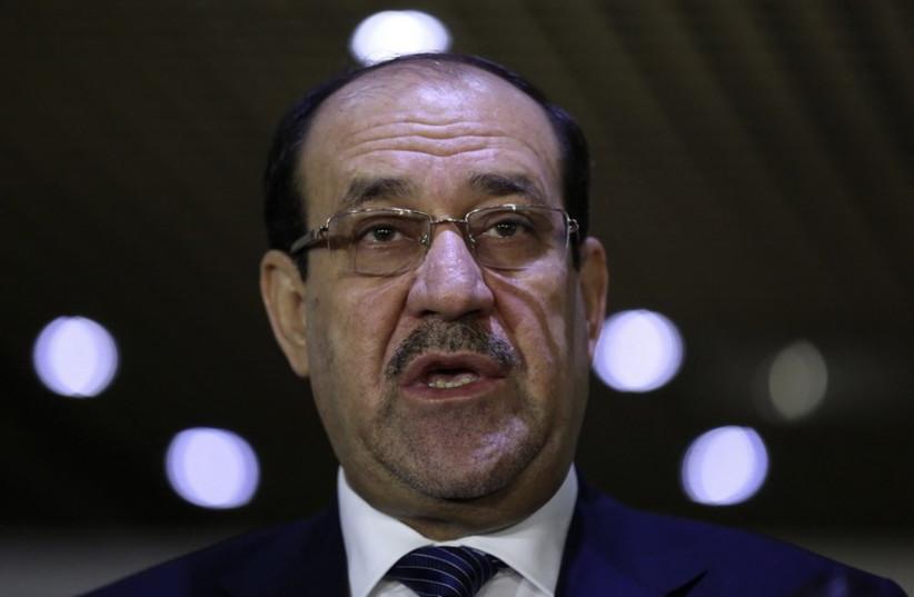 Iraqi Prime Minister Nouri al-Maliki (photo credit: REUTERS)