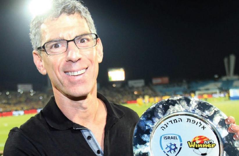 Maccabi Tel Aviv owner Mitch Goldhar. (photo credit: ASAF KLIGER)