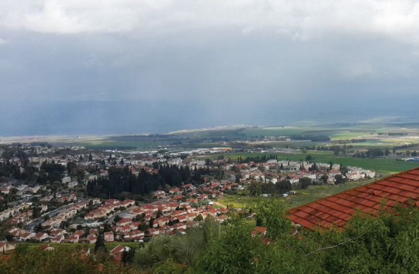 Nimrod Lookout commands views of the Golan, the Hula Valley, Mount Hermon and the entire Galilee Panhandle. (photo credit: Courtesy)