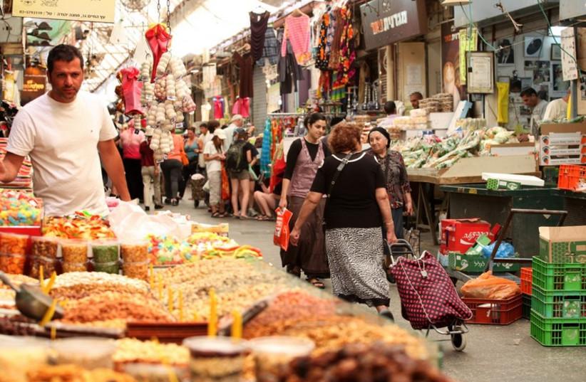 Mahane Yehuda Market (photo credit: MARC ISRAEL SELLEM/THE JERUSALEM POST)