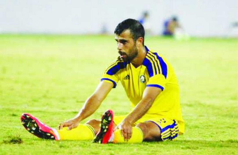 Maccabi Tel Aviv striker Eden Ben-Basat (photo credit: MACCABI TEL AVIV WEBSITE)