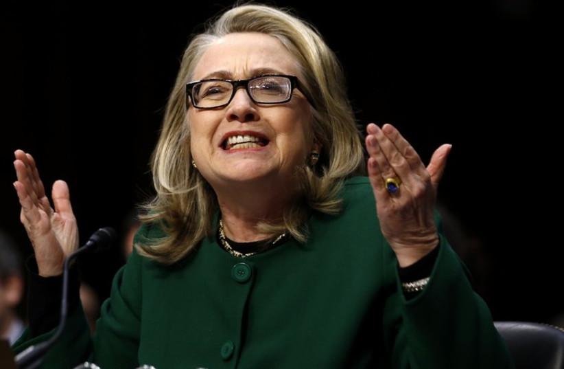 Hilary Clinton (photo credit: REUTERS)