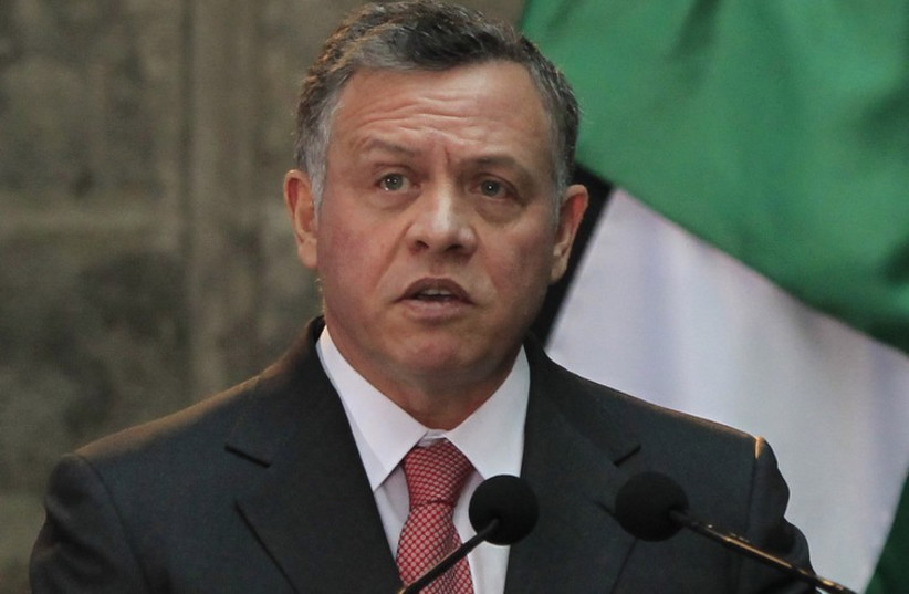 King Abdullah (photo credit: REUTERS)