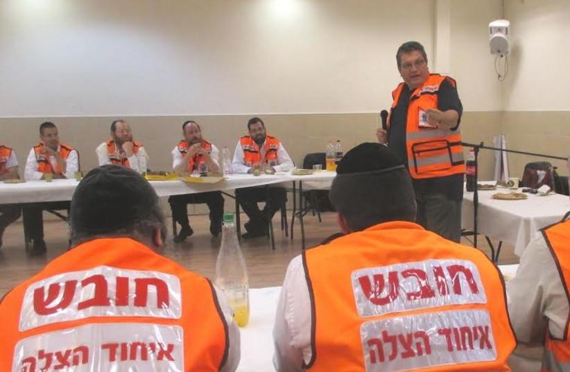 United Hatzalah treats volunteers for trauma (photo credit: UNITED HATZALAH)