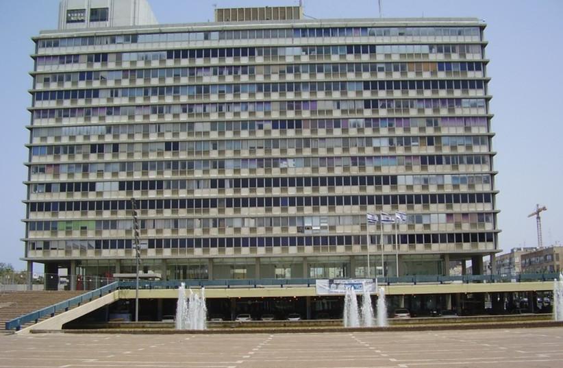 Tel Aviv municipality building. (photo credit: Wikimedia Commons)