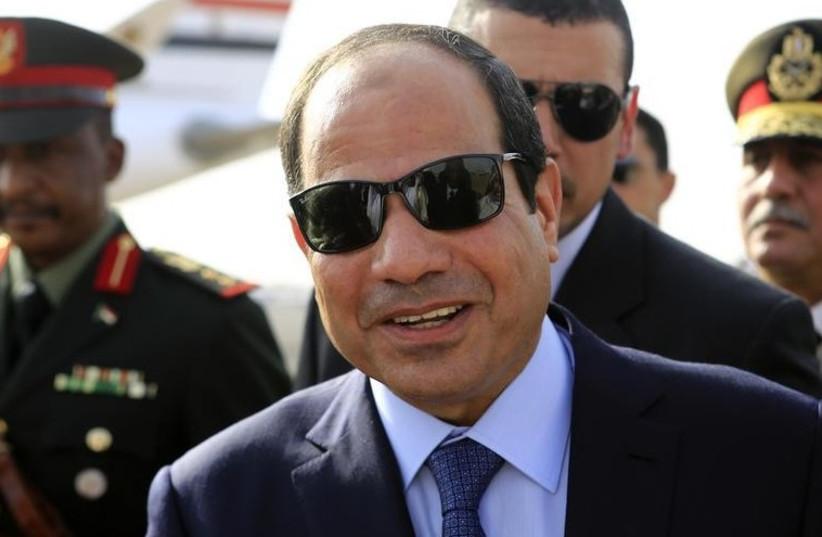 Egypt's President Abdul Fattah al-Sisi (photo credit: REUTERS)