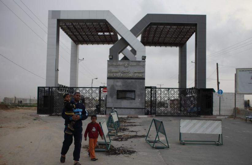 Rafah Crossing (photo credit: REUTERS)