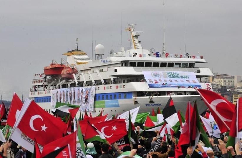 Mavi Marmara, 2010 (photo credit: REUTERS)