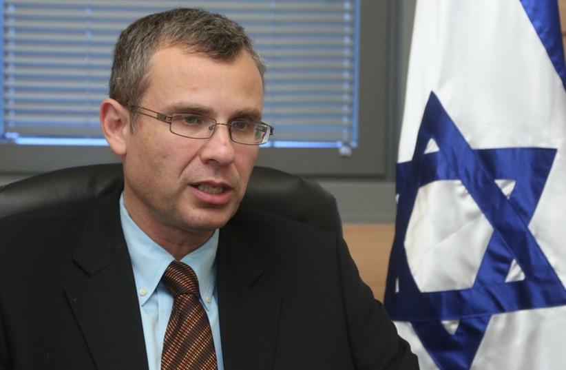 Yariv Levin (photo credit: MARC ISRAEL SELLEM/THE JERUSALEM POST)