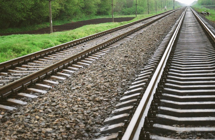 Train tracks (photo credit: INGIMAGE/ASAP)