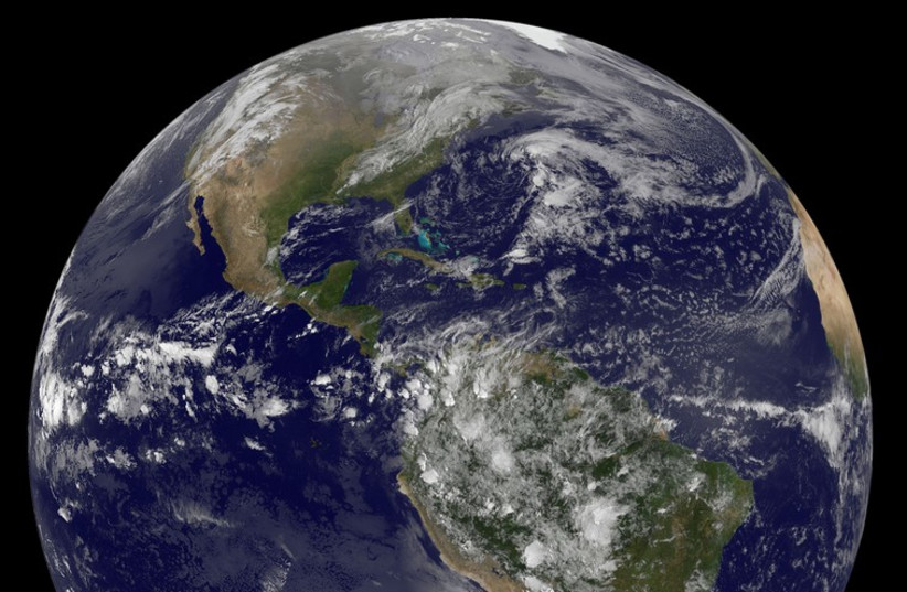 Planet Earth (photo credit: REUTERS)
