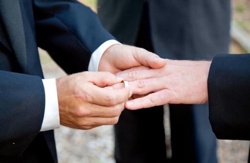 Gay marriage (photo credit: INGIMAGE / ASAP)