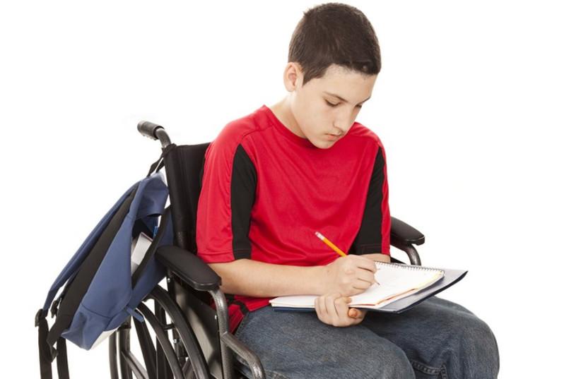 Disabled teen  (photo credit: INGIMAGE / ASAP)