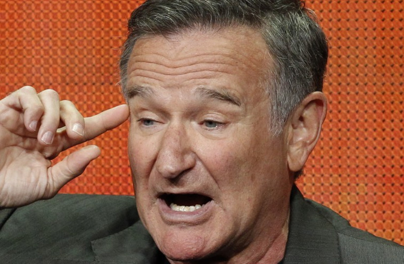 Robin Williams (photo credit: REUTERS)