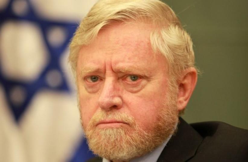 State Comptroller Joseph Shapira (photo credit: MARC ISRAEL SELLEM/THE JERUSALEM POST)