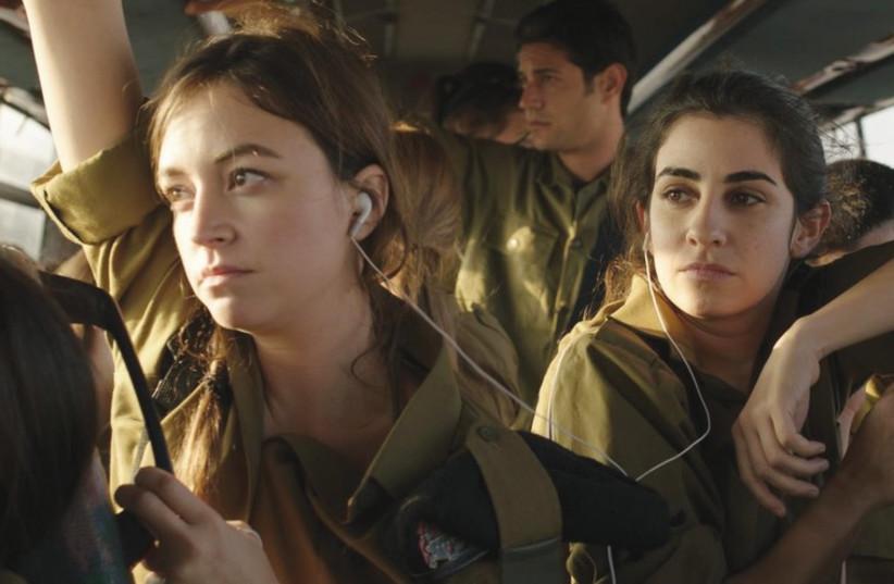 NELLY TAGAR (left) and Dana Ivgy star in Talya Lavie's 'Zero Motivation.' (photo credit: YARON SHARIF)