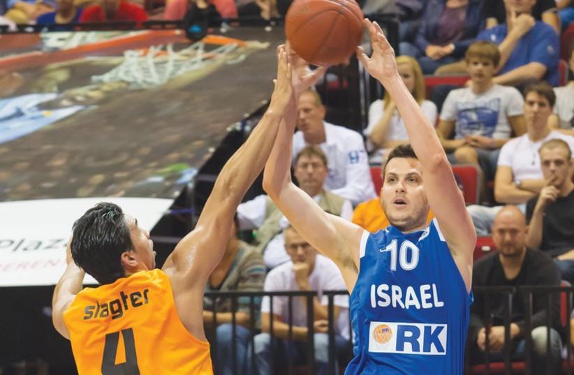 Israel forward Guy Pnini (photo credit: FRANS NELISSEN)