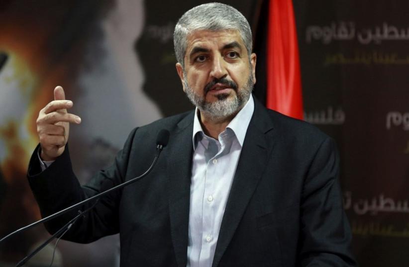 Khaled Mashaal (photo credit: REUTERS)