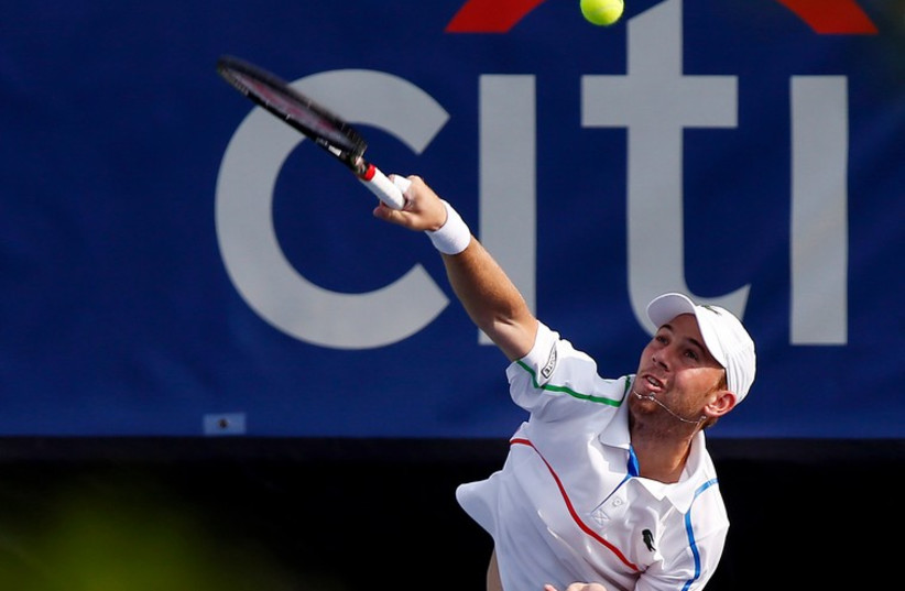 Israeli tennis star Dudi Sela.  (photo credit: REUTERS)