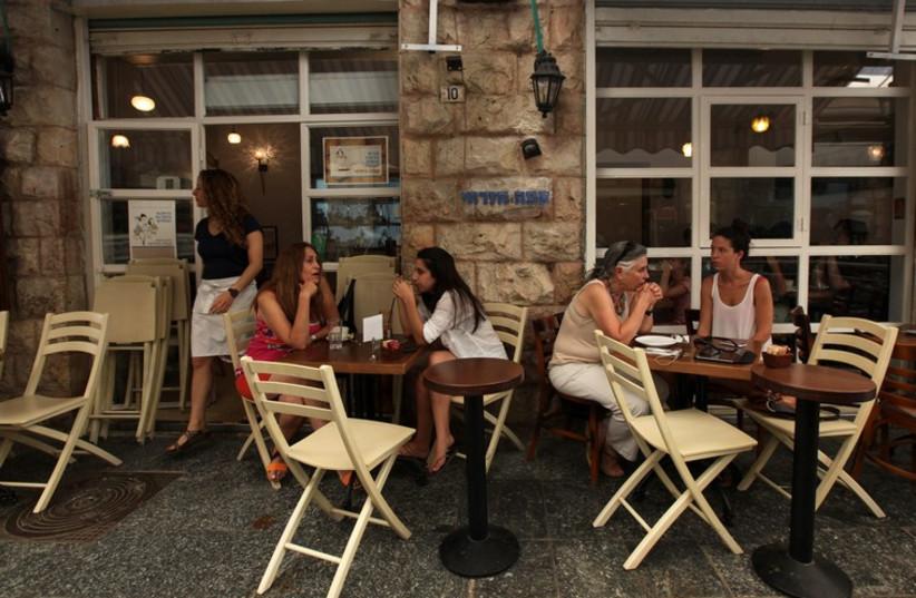 Cafe Mizrachi in Jerusalem's Mahane Yehuda Shuk  (photo credit: MARC ISRAEL SELLEM)