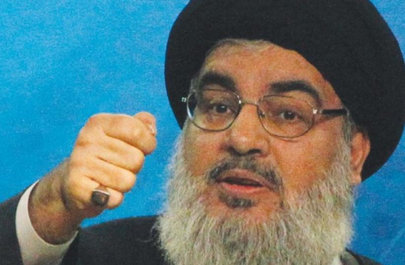 Hezbollah chief Hassan Nasrallah. (photo credit: REUTERS)