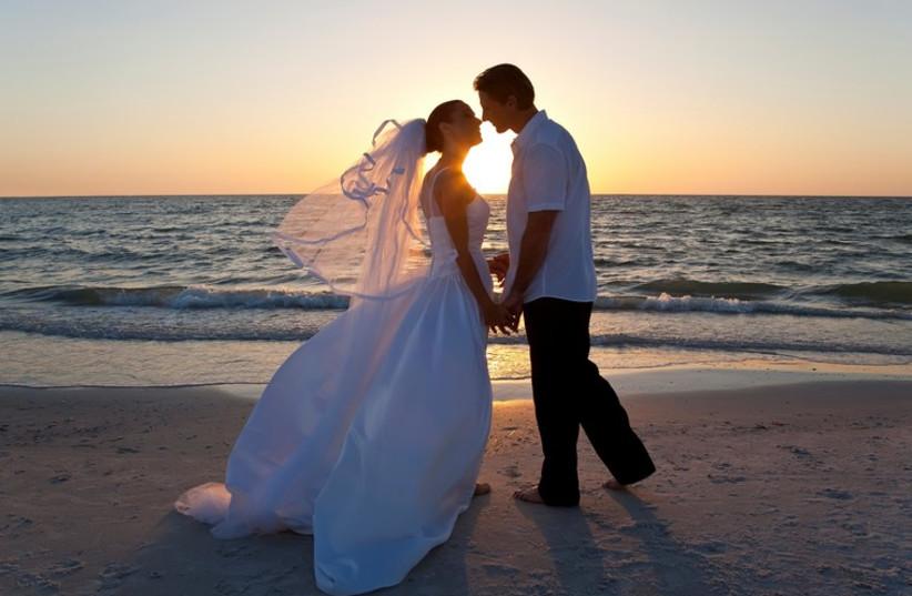 Wedding [illustrative] (photo credit: INIMAGE)
