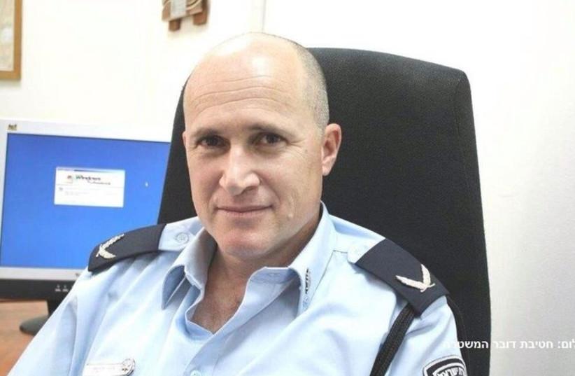 Commander Roni Ritman (photo credit: ISRAEL POLICE)