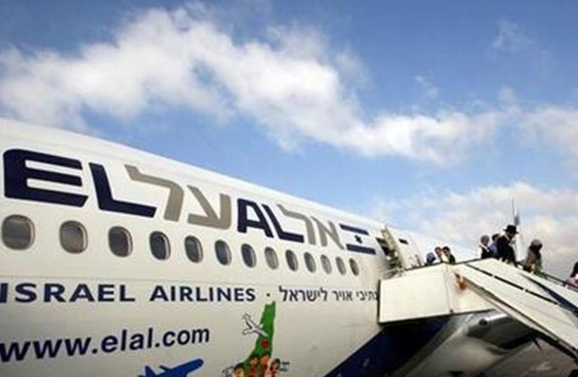 An El Al airliner. (photo credit: REUTERS)