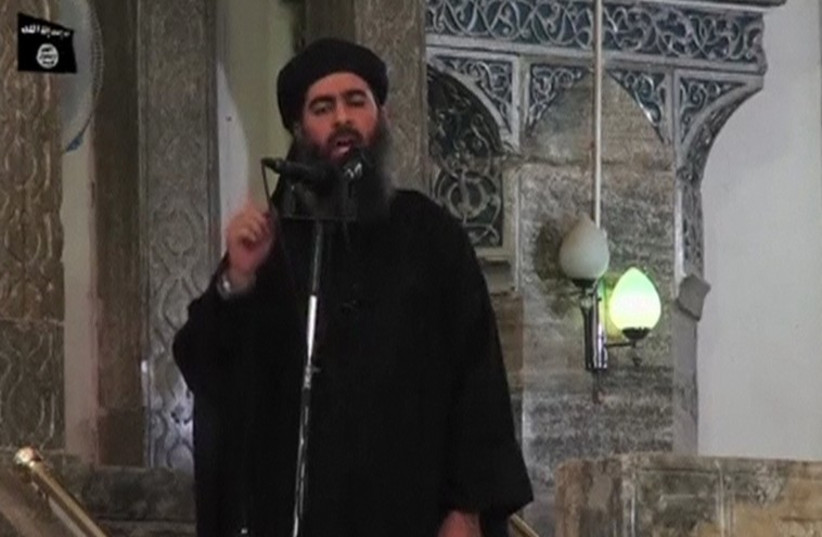 Abu Bakr Al-Baghdadi (photo credit: REUTERS)