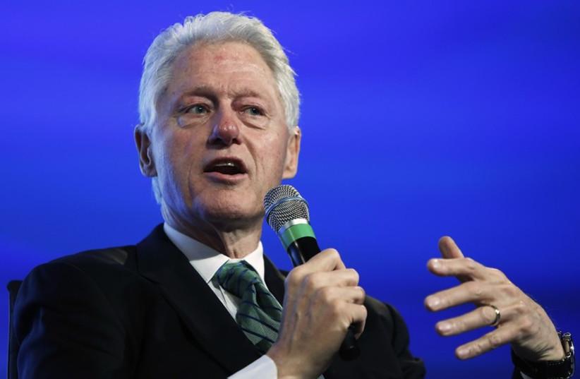 Bill Clinton (photo credit: REUTERS)