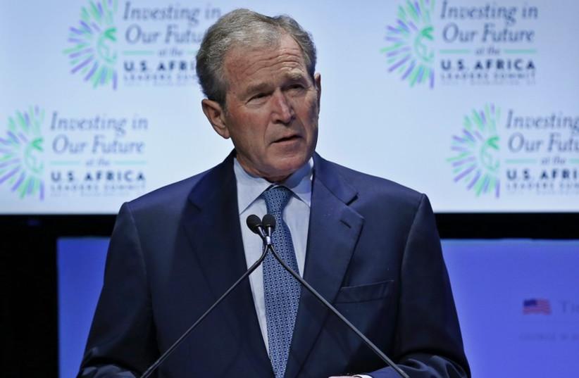 George W. Bush (photo credit: REUTERS)