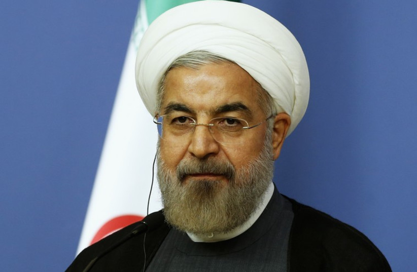 Hassan Rouhani (photo credit: REUTERS)