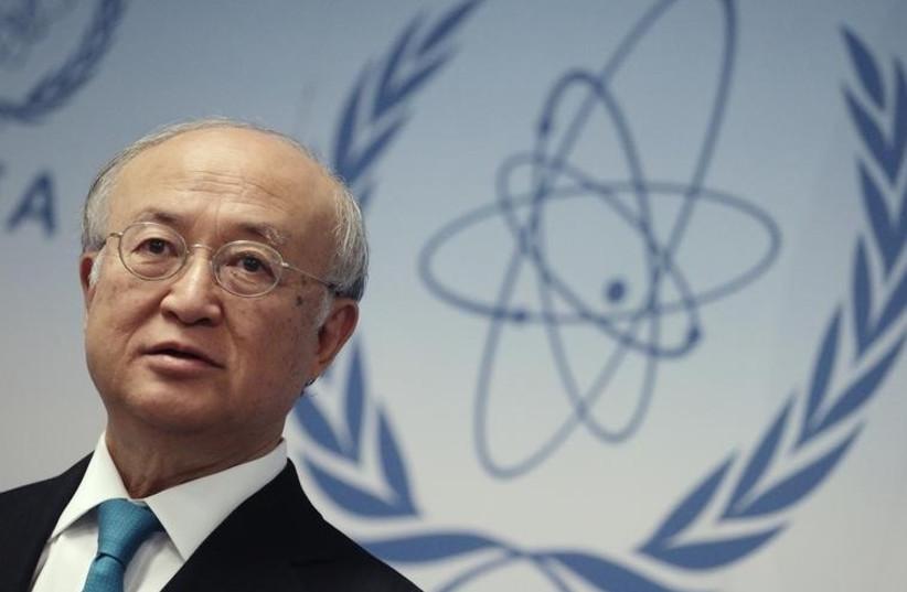 International Atomic Energy Agency (IAEA) Director-General Yukiya Amano. (photo credit: REUTERS)