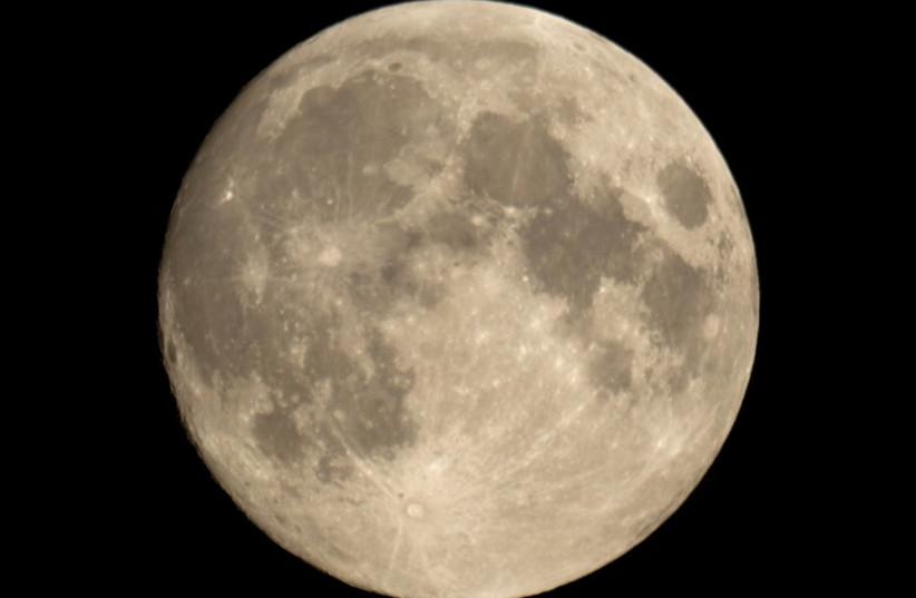 Moon (photo credit: INGIMAGE / ASAP)