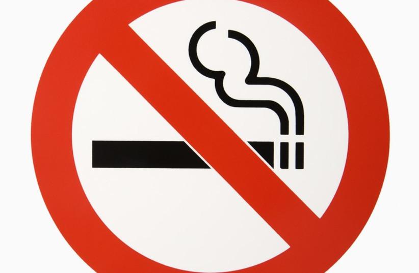 No-Smoking Sign (photo credit: INGIMAGE / ASAP)