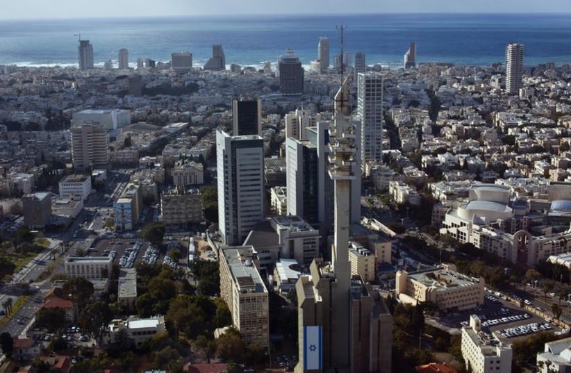 General view of Tel Aviv (photo credit: REUTERS)
