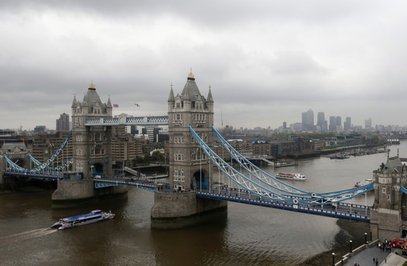 Tower Bridge and the River Thames, London (photo credit: REUTERS)