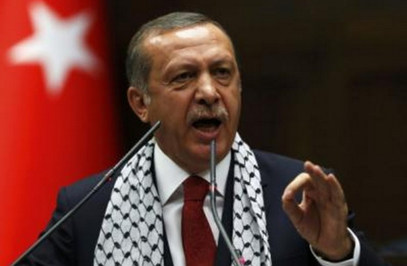 Turkey's President Recep Tayyip Erdogan. (photo credit: REUTERS)