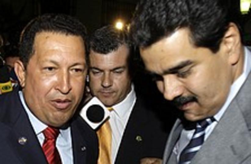 chavez Maduro 224.88 (photo credit: AP)