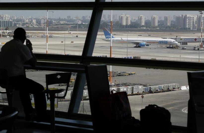 Ben Gurion Airport (photo credit: REUTERS)