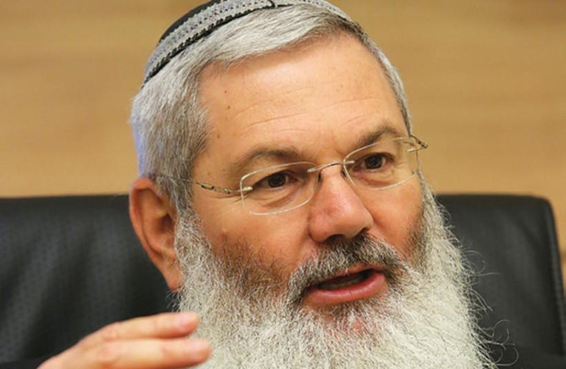 Deputy Defense Minister Eli Ben-Dahan (photo credit: MARC ISRAEL SELLEM)