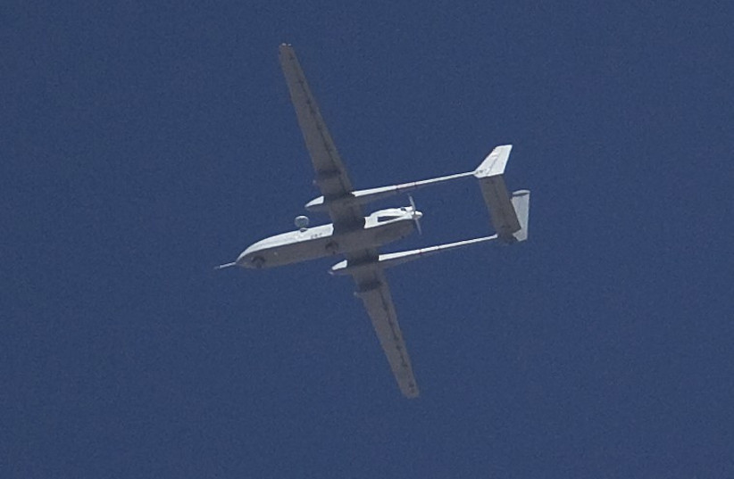 Israeli Drone (illustrative) (photo credit: REUTERS)