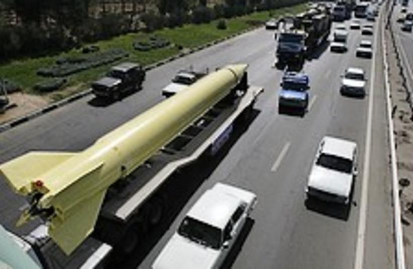 shihab shahab on highway 224.88 ap (photo credit: AP)