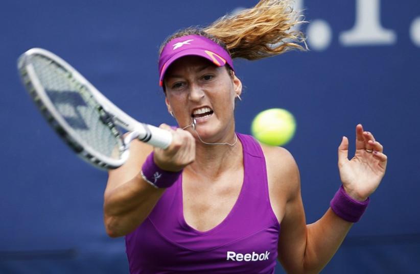 Israeli tennis star Shaar Pe'er (photo credit: REUTERS)